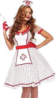 2 PC. Leg Avenue Ladies Bedside Betty Nurse Dress Costume Set