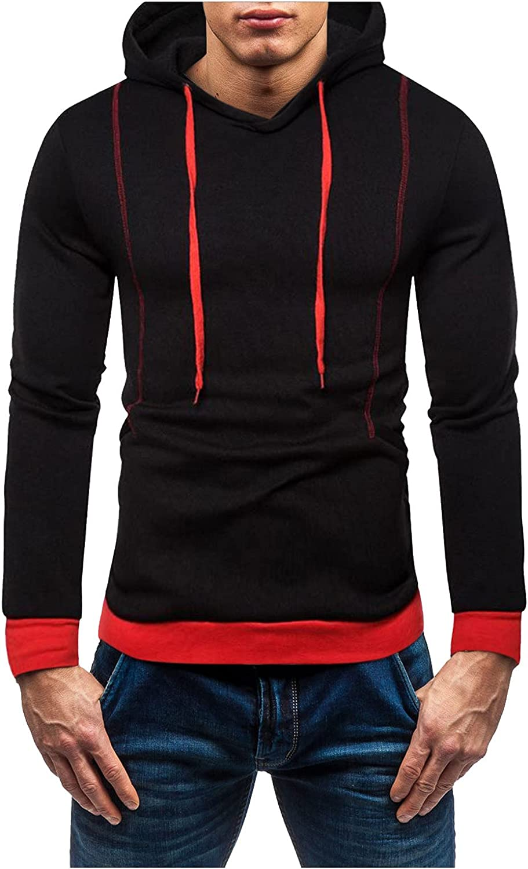 Sweatshirts for Men Zipper Patchwork Bodybuild Lightweigh Spring new work Long Beach Mall one after another Hoodie