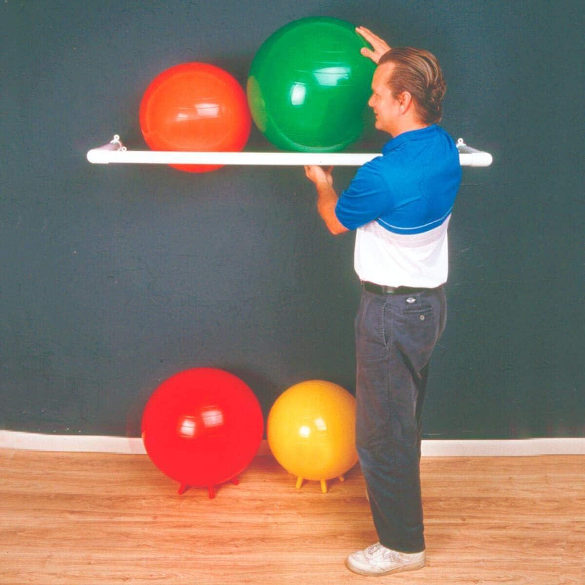 Ultra-Cheap Deals FAB301831 - Wall rack 3 ball ba capacity for molded inflatable Las Vegas Mall