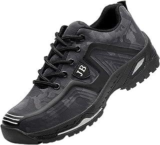 Zapatos de Seguridad para Hombre Zapatillas Zapatos de Mujer Seguridad de Acero Ligeras Calzado de Trabajo para Comodas Un...