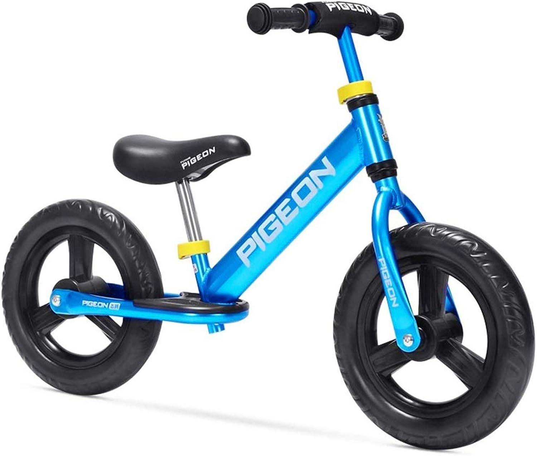 precios al por mayor SSRS SSRS SSRS Coche de Equilibrio para Niños 1-3-6 años de Edad Niño   bebé Scooter de Diapositivas de Aluminio sin Pedal de Bicicleta (Color   azul )  bienvenido a orden