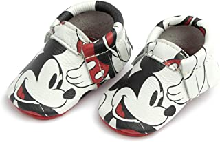 Freshly Picked - Soft Sole Leather Moccasins - Disney Baby Girl Boy Shoes - Infant Sizes 1-5