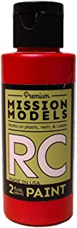 Mission Models Automobile Mmrc-029 Water-Based RC Paint 2 Oz Bottle Iridescent Red