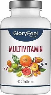 Multivitaminas y Minerales - Con Vitamina C para su sistema