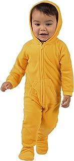 Creamsicle Infant Hoodie Fleece Onesie