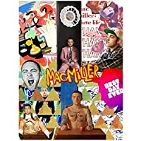Dubdubd Mac Miller Music Rapper Star Album Cover Poster Canvas Painting Art Picture For Living Room Home Decor Gifts-50X70Cm No Frame 1 Pcs