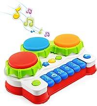 NextX Piano Infantil Juguete Musical Bebé Educativo Piano Preschoool Juguete Eléctrico para Niños Aprendizaje de Regalo de Teclado