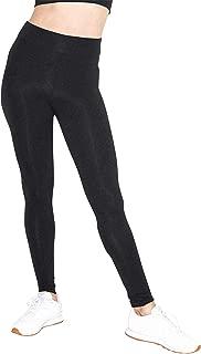Women's Cotton Spandex Jersey High-Waist Leggings