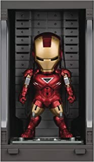 Iron Man 3: Iron Man Mk VI with Hall of Armor Mea-015 Mini Egg Attack Figure