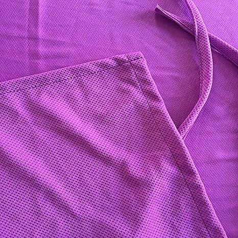 tomar el sol Teekit Tumbona de microfibra de secado r/ápido con bolsillos para las vacaciones