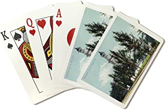 Miami, Florida - Presbyterian Church Exterior View (Playing Card Deck - 52 Card Poker Size with Jokers)