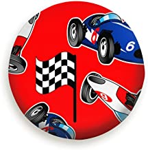 maigansen Spare Tire Cover,Fit for Jeep,Trailer, RV, SUV red White Blue Racing Cars Sports Recreation Transportation