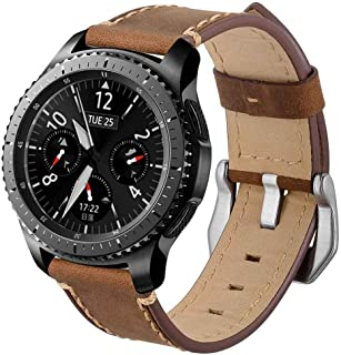 Christmas Hot Sale!!!Natarura New Fashion Leather Replacement Watch Wrist Strap Band for Samsung Galaxy Watch 46mm/42mm