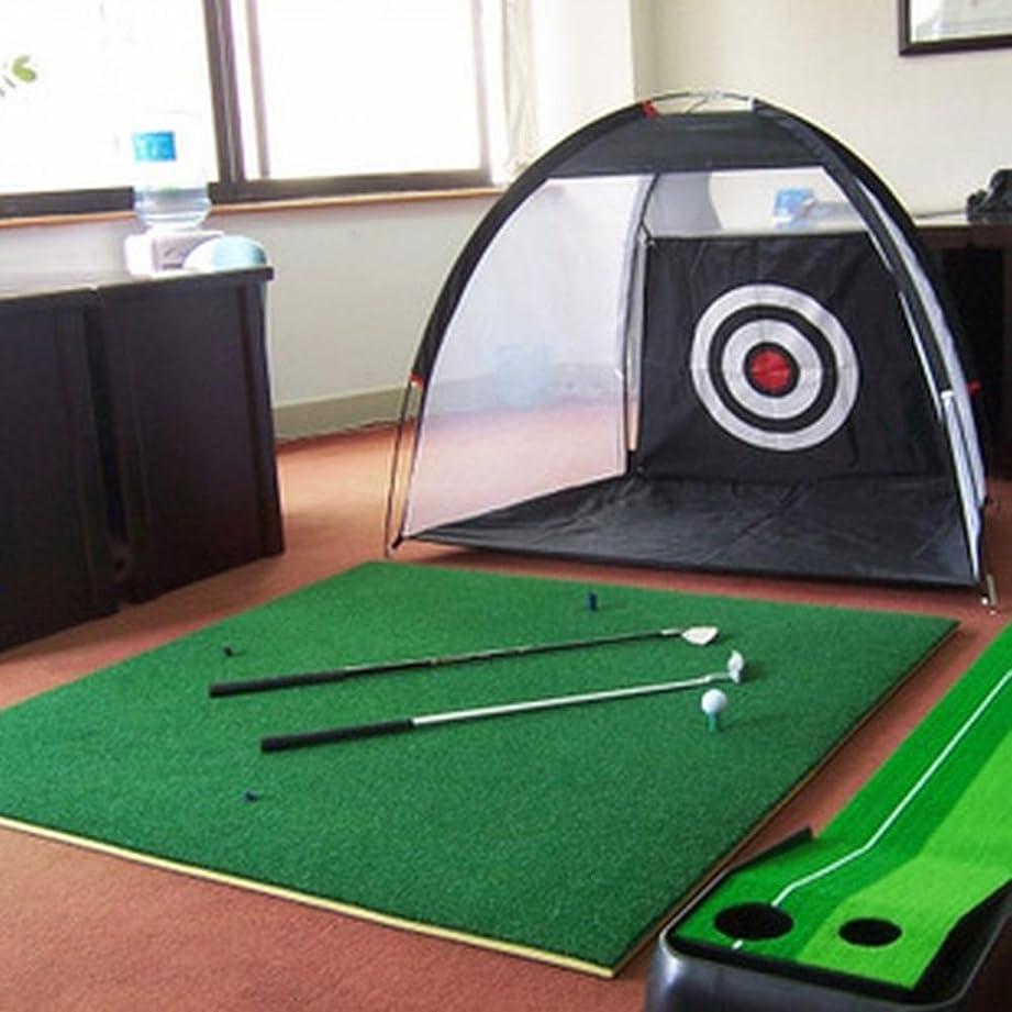 破壊的先例速い持ち運びできる ゴルフ 練習ネット 自宅用 簡単設置