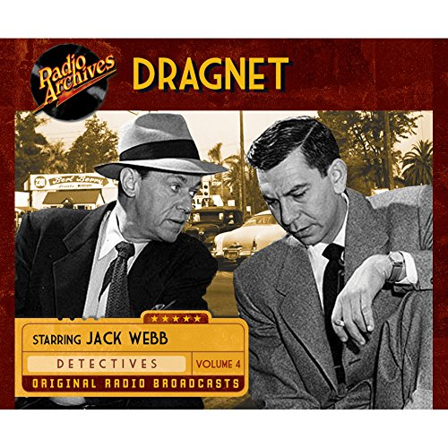 Dragnet, Volume 4 cover art