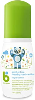 Babyganics Alcohol-Free Foaming Hand Sanitizer, On-The-Go, Fragrance Free, 1.69 oz, Packaging May Vary