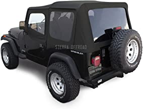 jeep yj bowless soft top