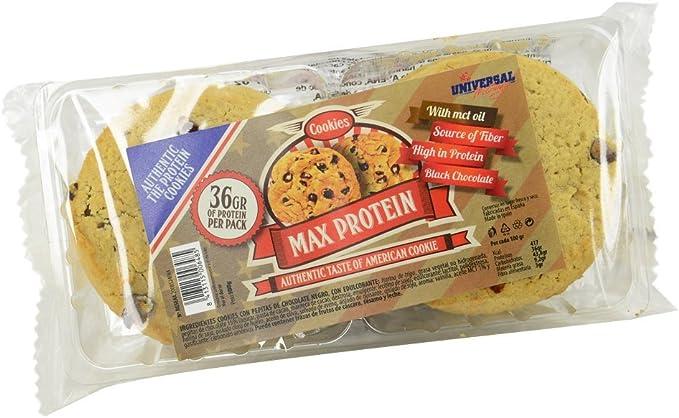 Max Protein Cookies con Pepitas de Chocolate Negro ...