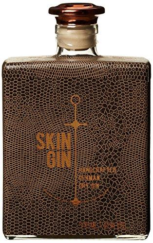 """Skin Gin \""""German Dry Gin\"""" Reptile Brown (1 x 0,5l ) - hergestellt u.a aus marokkanischer Minze , vietnamesischem Koriander und Wacholder aus der Lüneburger Heide"""
