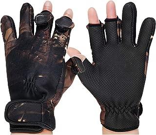 Best anti slip fishing gloves Reviews