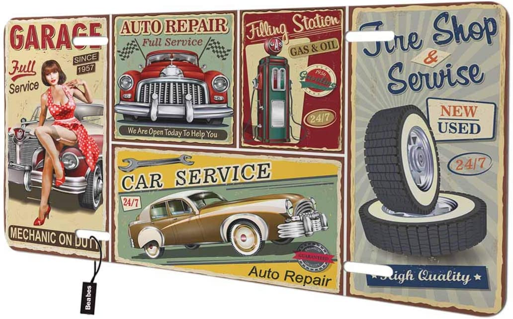 Fort Worth Mall Beabes Retro Posters Front License Wo Vintage Now on sale Plate Style Cover