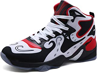 8399891c784f COSDN Men s Cool High-Top Basketball Shoes Outdoor Trainers Durable Sport  Running Youth Breathable Sneakers
