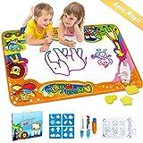 EpochAir Wasser Doodle Matte, Kinder Spielzeug Magic Malmatte 86 x 57cm mit Wasserfarben Stiftes...