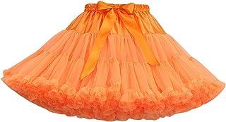 Tutu Donna Gonna Tulle Corta tutù per Danza Ballerina Gonne in Tulle Vaporosa Corte Gonnellone Gonnellina di Tulle Carneva...