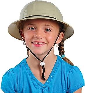 Children's Hard Plastic Safari Pith Helmet
