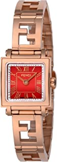 [フェンディ]FENDI 腕時計 QUADOROMINI レッド文字盤 F605527200 レディース 【並行輸入品】