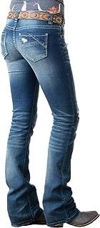 Women's Rival Bootcut Jeans in Medium Vintage W6-1002