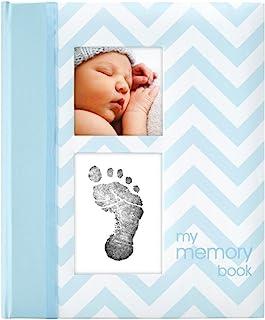 Pearhead Babybook, Blue