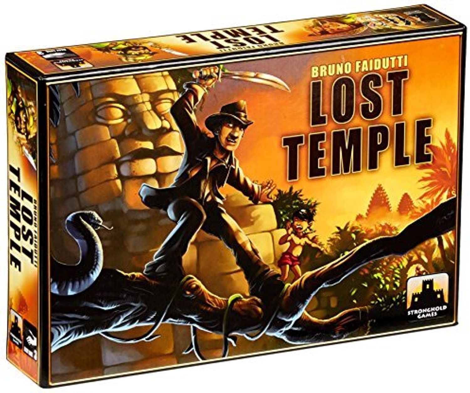 Lost Temple by Stronghold Games (English Manual)