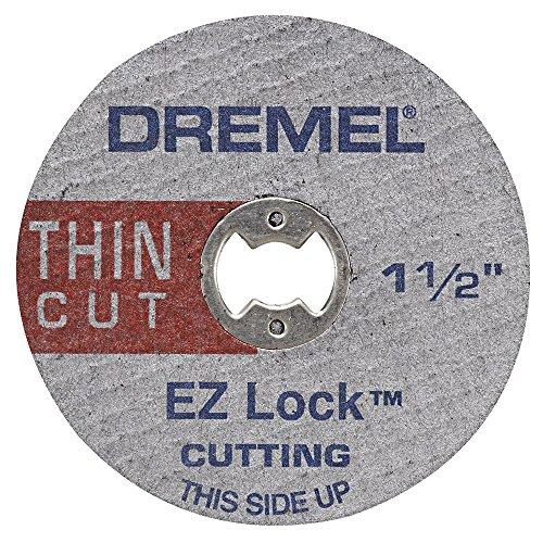 Dremel EZ409 1-1/2-Inch EZ Lock Thin Cut, Silver