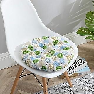 Cojines para Silla Set 6 Lea - comodísimos Cojines para sillas - Vivienda o terraza - Cojín grueso grueso silla de verano cojín algodón y lino(40*40CM,45*45CM) - 20 colors Forro de algodón perlado