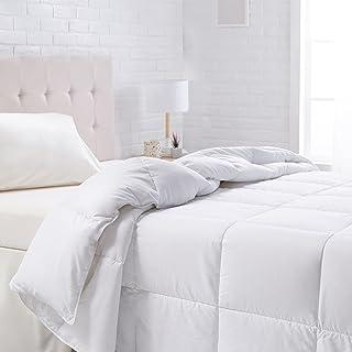 AmazonBasics Down Alternative Bed Comforter - Full/Queen, All-Season