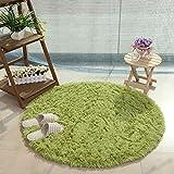 Círculo suave alfombrilla de sala de estar área Rugs alfombra Felpudo alfombra dormitorio cocina sofá cojín antideslizante alfombra de patas