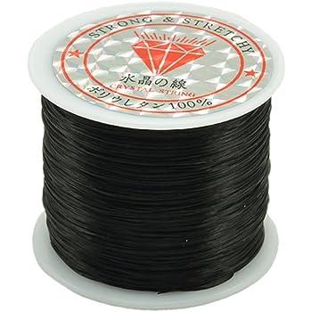 Amazon Com Rubber String 0 5mm Crystal Elastic String Angela Max