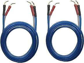 KK ZB-ZB 1pair set(Total 8 pin Plug) HIFI OFC Speaker Wire, Pin Type Plug to Pin Type Plug 1.5M(4.92ft)/3M(9.84ft)/5M(16ft), KK ZB-ZB
