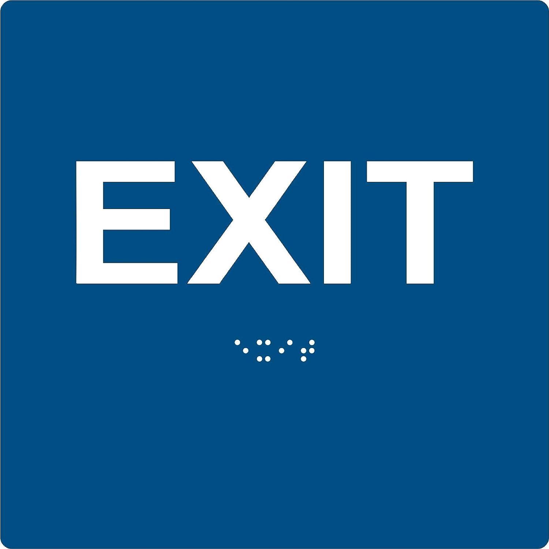 ADA EXIT Braille Sign 6