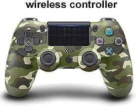 Controlador De Juego Inalámbrico Ps4 para , Controlador De Controlador Ps4 Bluetooth 4.0 Doble Cabeza De Cabeza Manipule Mando Game Pad para Playstation 4 -Camuflaje verde