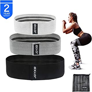 JDYXB Resistance Bands Loop Exercise Bands for Legs and Butt,Fabric Non-Slip Hip Booty Bands Glute Resistance Workout Bands for Gym Sports Yoga for Men and Women