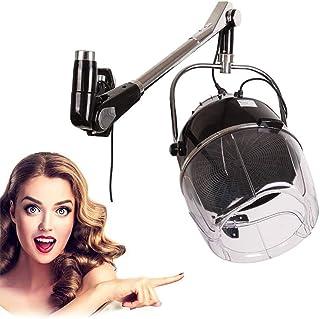 ZLSN Orbital Casco Secador, Campana Casco Secador de Pelo 900W Secador de Peluqueria con Pared Montar Sistema para Barbero Salón Belleza