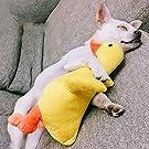 mewmew 犬用おもちゃ 耐久性 ぬいぐるみ かわいいアヒル 音が出るぬいぐるみ 歯ぎ清潔 デンタルケア 耐久性 安全无毒 犬おもちゃ ストレス解消 知育玩具 運動不足解消 ペット用品 中小型犬に適