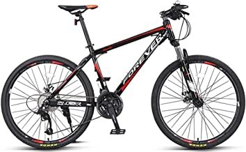 YINJIESHANGMAO 27 Speed Road Bike Light Aluminum Frame 700C Road Bicycle, Dual Disc Brakes,