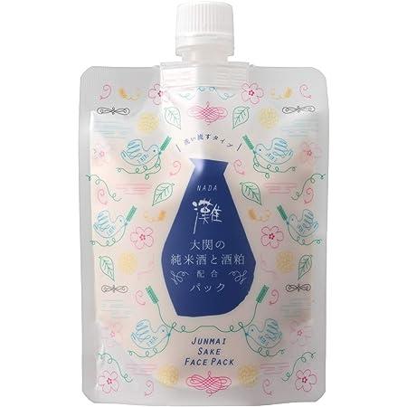 【日本酒コスメ】蔵元発 灘 純米酒と酒粕のパック フェイスパック 170g
