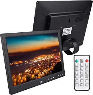 """12"""" Hd Digital Photo Frame,1280 * 800 Electronic Photo Frame Digital Picture Frame with Music and Video Player, Alarm Cloc..."""