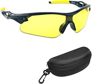 iLumen8 Best Shooting Glasses UV Blacklight Flashlight Yellow Safety Eye Protection See..