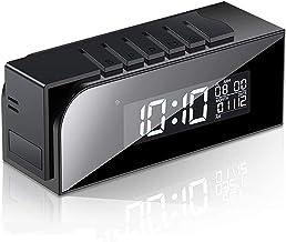 Digitale klok, draadloze Tuya WIFI verborgen IP-camera, 1080P HD IR nachtzicht Home Security Surveillance, bewegingsdetect...