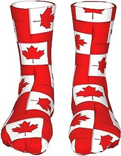 Szipry, Canadiense sin costuras, unisex, transpirable, a la moda, calcetines deportivos para correr
